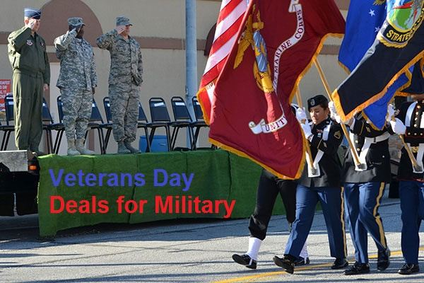 Veterans Day Deals for Military