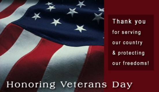 Veterans day e-Cards