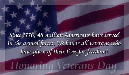 Veterans day meanings