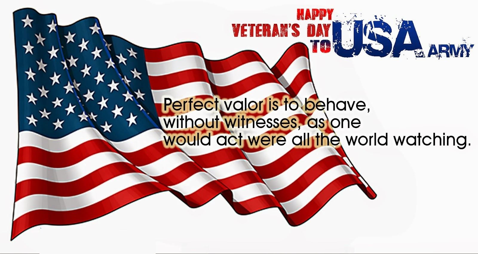 Veterans day sms