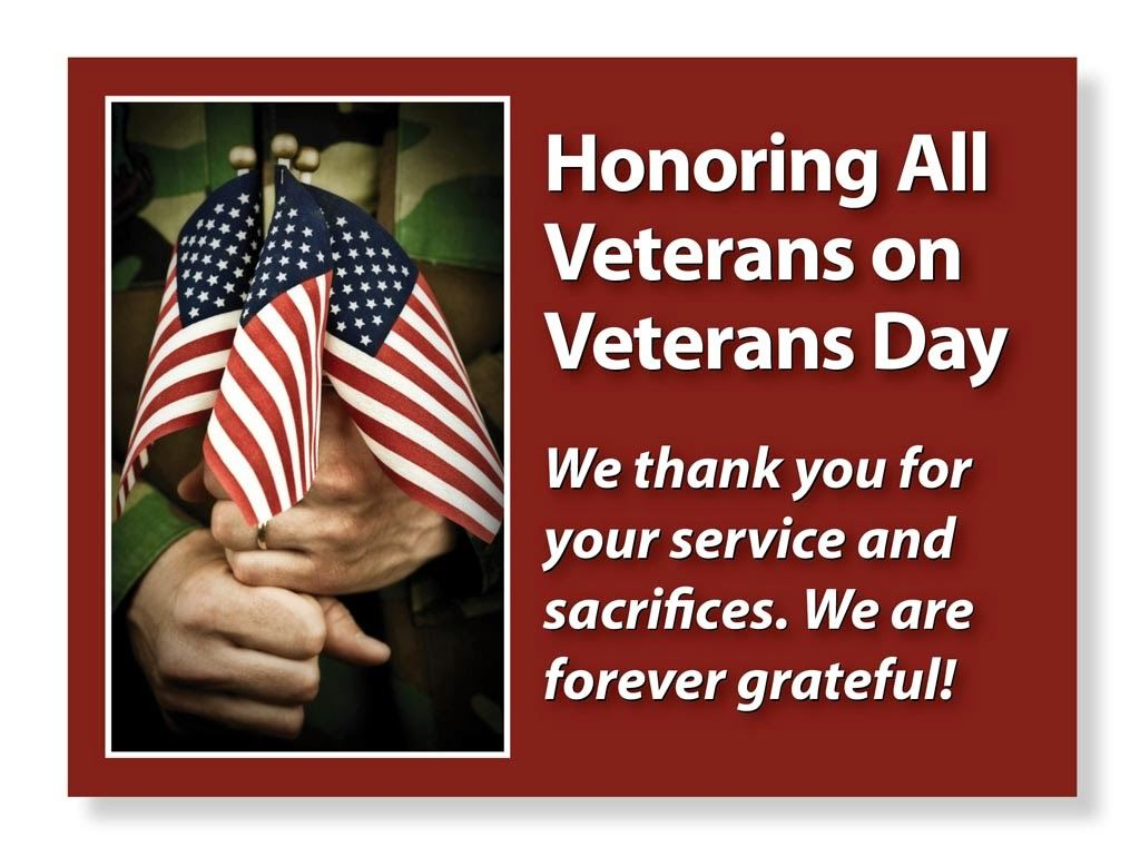 happy veterans day message