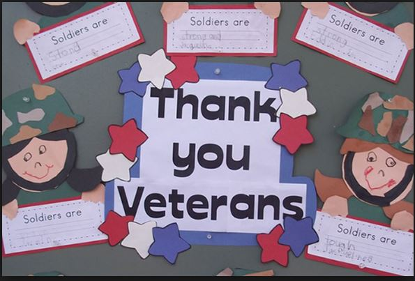 Veterans Day Crafts 2019, Making a Veterans Day Craft for Kids