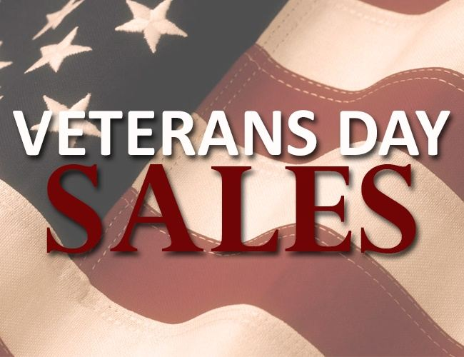 veterans day sales