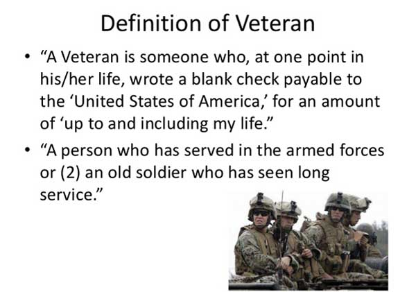 veterans definition
