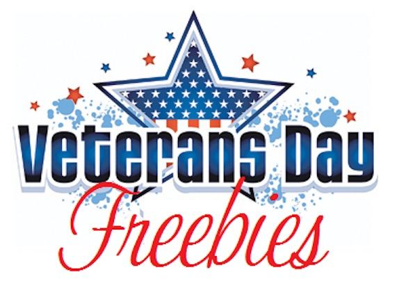 Veterans day Freebies 2017