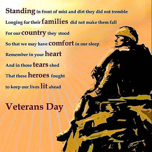 What is Veterans images with quotes