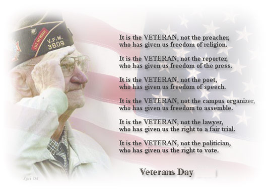 veterans day poems 2021